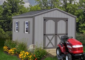 Elm 10 x 8 Shed Kit by Best Barns